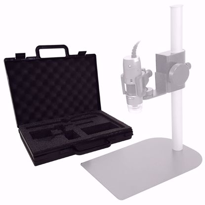 Picture of Custom Carrying Case for Dino Lite Microscope and Stand  (MS35B / RK-06A)